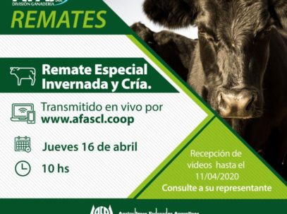 Remates AFA abril 2020